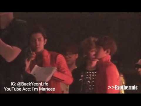 [BAEKYEON MOMENT] Baekhyun reaction to TaeYeon's Song!