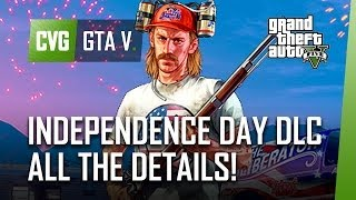 GTA 5 Independence Day DLC: ALL The Details! (Firework Launcher, The Liberator, More)