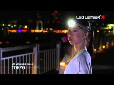 LED Lenser NEO LED HEAD TORCH - NEON PINK