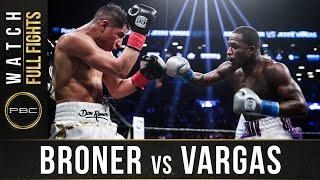 Broner vs Vargas FULL FIGHT: April 21, 2018 - PBC on Showtime