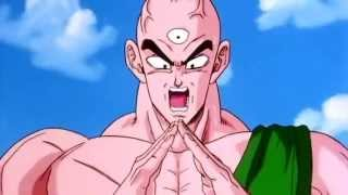 DBZ - Tien Vs Semi Perfect Cell 【HD】