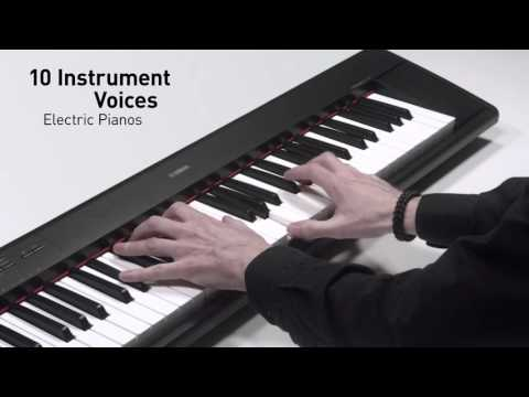 Yamaha NP12 Keyboard Black