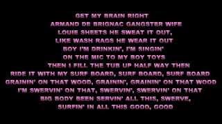 Beyonce ft.Jay Z - Drunk In Love FULL (Lyrics)