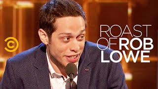 Pete Davidson Wrecks Rob Lowe's S**t (Full Set) - Roast of Rob Lowe