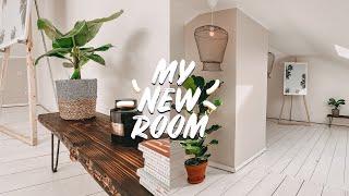 EXTREME ROOM MAKEOVER / TRANSFORMATION + DIY Boho Bank & Lampe | EASY ALEX