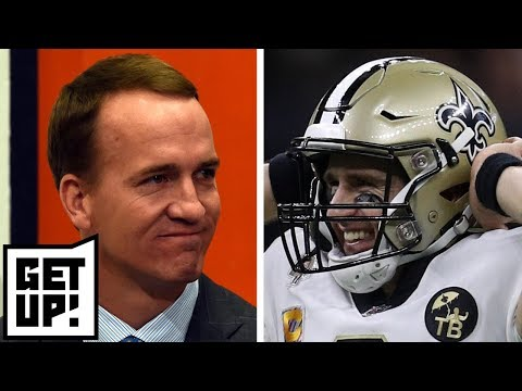 Does Drew Brees breaking Peyton Manning's record put him among QB G.O.A.T's? | Get Up!