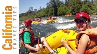 Rafting en californie