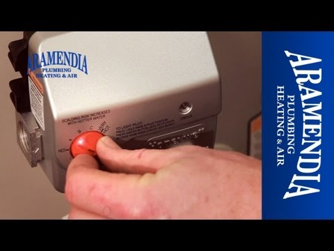 How to Adjust the Tempature Setting on Your Water Heater - Aramendia Plumbing Heating & Air