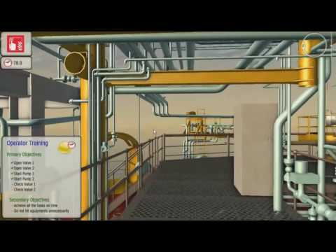 ITS Immersive Operator Training with COMOS Walkinside