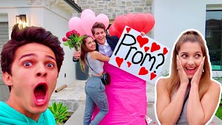 I ASKED MY CRUSH TO PROM! ft. Lexi Rivera!