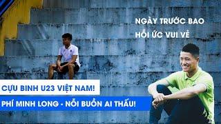 Thủ môn hot một thời Phí Minh Long lặng lẽ ngồi một mình ở khán đài cổ vũ Hà Nội FC |  NEXT SPORTS