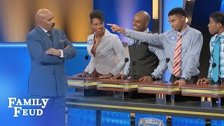 Find out why Tre lost cellphone privileges... for TWO YEARS! | Family Feud