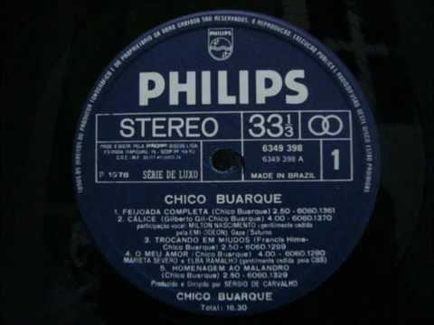 Baixar Chico Buarque & Milton Nascimento - Cálice (LP/1978)