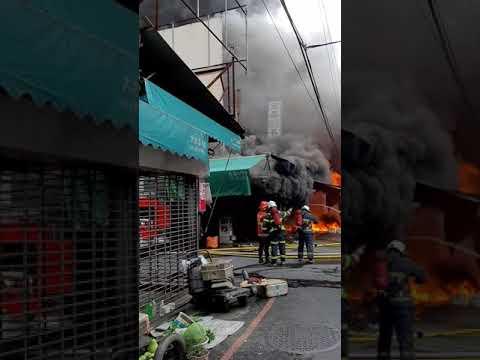 埔里第三市場火災