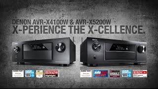 Denon AVRX5200W 9 2 Network A/V Receiver with Wi-Fi & Bluetooth