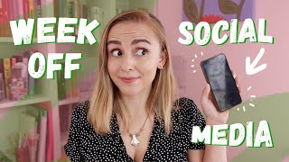 I Took a Week Off Social Media to Reset My Brain and This Happened