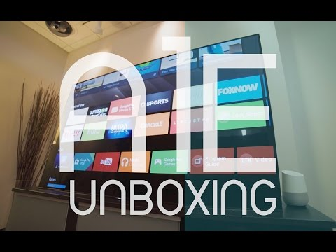 """Unboxing The New 65"""" Sony A1E BRAVIA OLED 4K HDR TV"""