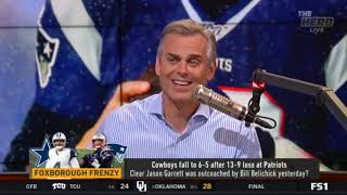 Colin Cowherd reacts to Cowboys fall to 6-5 after 13-9 loss at Patriots | The Herd