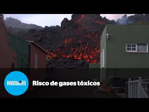 Após erupção do vulcão Cumbre Vieja, especialistas temem gases tóxicos