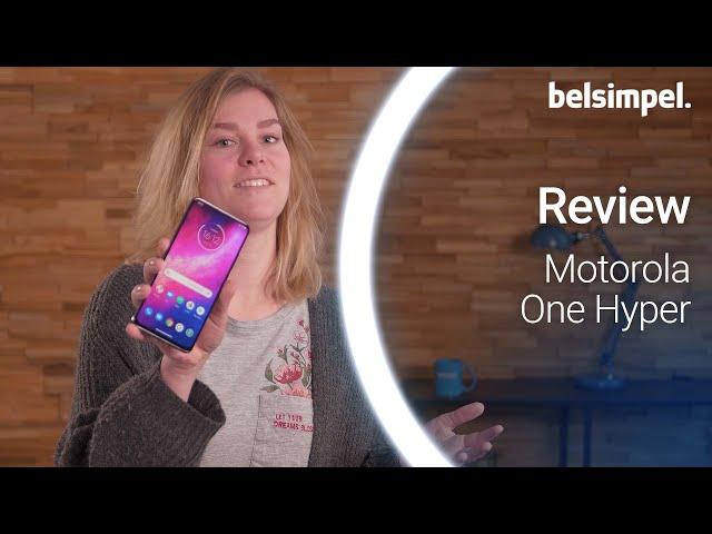 Belsimpel-productvideo voor de Motorola One Hyper