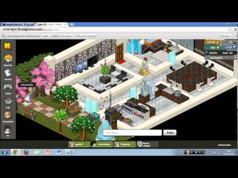 Explicando como construir una casa moderna habbo fantasy for Casa moderna en habbo fantasy