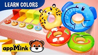 Toddler Learning Colors With Unboxing Donuts - appMink Junior