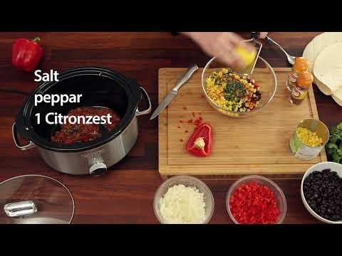 Gör smarriga enchiladas i Crock-Pot Slowcooker