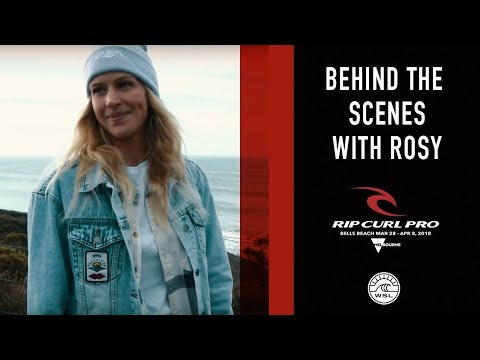 2018 Rip Curl Pro | Behind The Scenes with Rosy Hodge