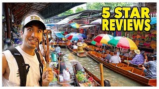 Eating At The BEST Reviewed Street Food Markets In Thailand (5 STAR)