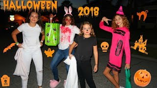 MY HALLOWEEN DAY |TRICK OR TREAT WITH SISTER FOREVER AND KEILLY AND KENDRY AVENTURES VLOG#33