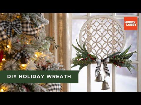 DIY Holiday Wreath | Christmas | Hobby Lobby®