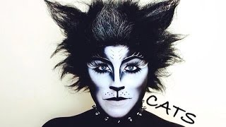 CATS BROADWAY MUSICAL MAKEUP TUTORIAL - NYX FACE AWARDS 2014 CHALLENGE 4