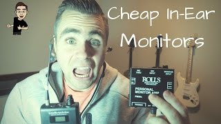 How To Set Up In Ear Monitors on a Budget
