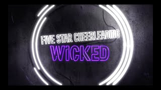 FiveStar Cheerleading Wicked 2018_19