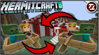 Zombie Bumper Boats! - Hermitcraft 8: #12