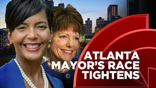 Atlanta Mayoral Race Tightens, Will The City Elect It's First White Mayor In Over 40 Years?