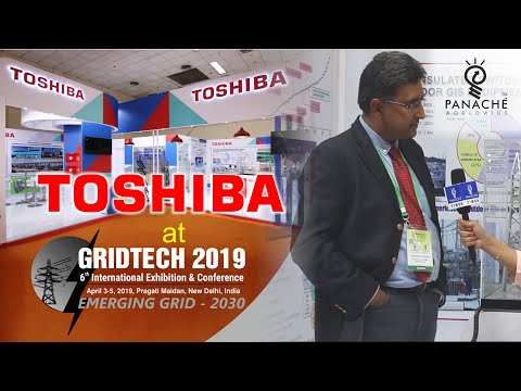 Toshiba Exhibition Stand Design & Build - GridTech 2019