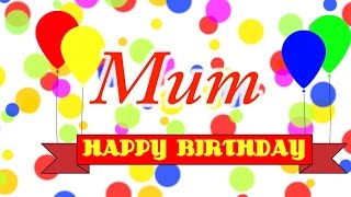 Happy Birthday Mum Song