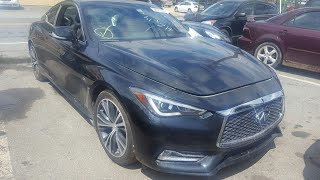 Bought A 2017 Infiniti Q60 From Copart/ Found Out It Was A Hertz Rental Car /Showing Damage/Drivable