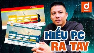 """Hiếu PC gây sốt khi """"đánh sập"""" hai trang web mạo danh hãng hàng không Việt Nam"""