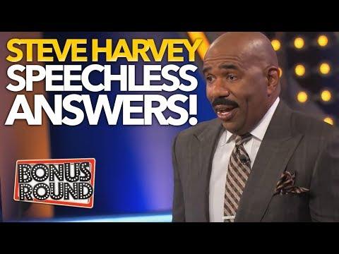 10 FAMILY FEUD US ANSWERS That Left STEVE HARVEY SPEECHLESS!