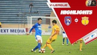 Bất phân thắng bại, T.Quảng Ninh và DNH Nam Định hài lòng với 1 điểm sau vòng 20 | VPF Media