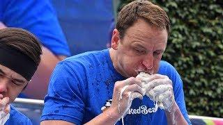 Joey Chestnut Sets Ice-Cream Sandwich Record