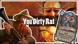 Hearthstone: You Dirty Rat (Reno Mage is Fun)