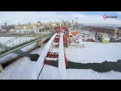 Walterdale: A new signature bridge for Edmonton, Canada