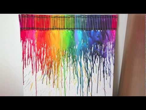 Diy decora tu cuarto con crayolas musica movil for Decora tu cuarto reciclando