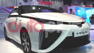 Dubai Motor Show TOYOTA MIRAI 2018 معرض دبي الدولي للسيارات ...