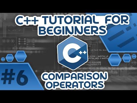 Learn C++ With Me #6 - Comparison Operators