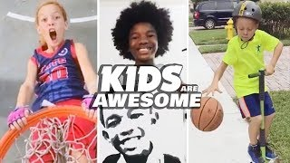 Amazing Basketball Duo & Emerging Artist | Kids Are Awesome