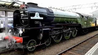 A1 60163 Tornado The Bard of Avon @ Manchester Piccadilly Saturday 23-03-2019